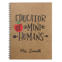 Funny Teacher Appreciation Gift Notebook