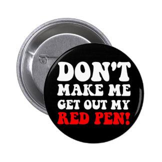 Funny teacher buttons