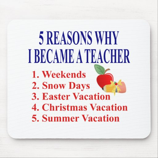 Funny Teacher Gift Mouse Pad