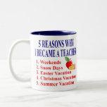 Funny Teacher Gift Mug