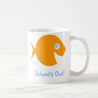 "Funny Teacher Gift ""School's OUT!"" Coffee Mug"