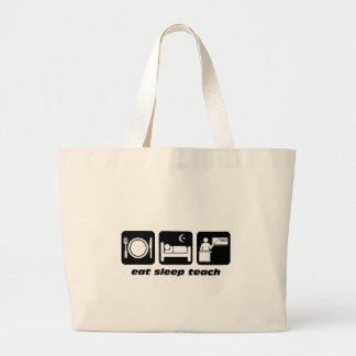 Funny teachers jumbo tote bag