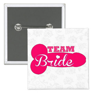 funny team bride,bachelorette party,hen party pin