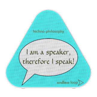 Funny Techno-Philosophy Conundrum Bluetooth Speaker