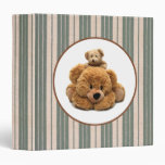 Funny Teddy Bear Design Father's Day Gift Binders