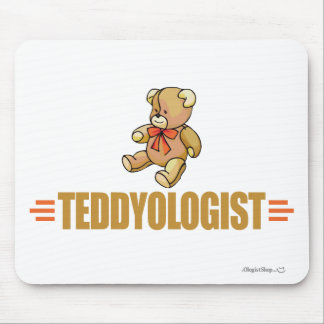 Funny Teddy Bear Mouse Pad