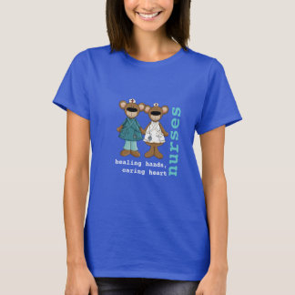 Funny Teddy Bears Nurse T-Shirts