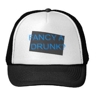 Funny Tee shirt  Fancy a drunk? Trucker Hat