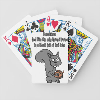 Funny Tee Shirts, Mugs, Hats, Apparel, nut jobs Bicycle Playing Cards