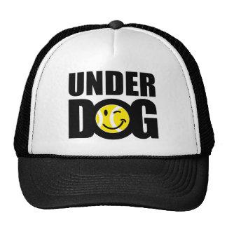 Funny tennis gift with humorous slogan saying mesh hat