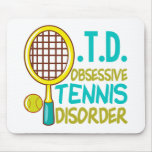 Funny Tennis Mouse Pad