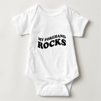 Funny Tennis My Forehand Rocks Shirt