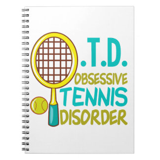 Funny Tennis Note Books