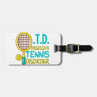 Funny Tennis Tag For Luggage