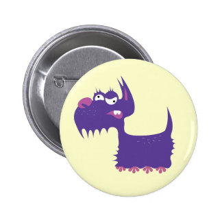 Funny Terrier Pinback Button