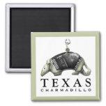 Funny Texas Armadillo Magnet