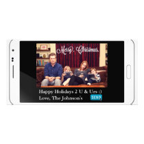 Funny Texting Christmas Horizontal Card