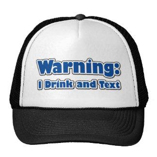 Funny Texting Mesh Hats