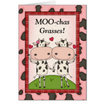Funny Thank You - Cows Card