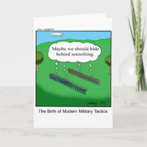 Funny Thank you Greeting Card