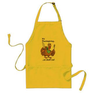 Funny Thanksgiving apron