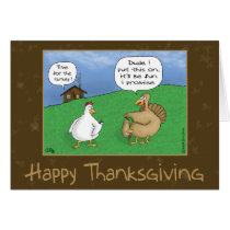 Funny Thanksgiving Cards: Fun and Games Card