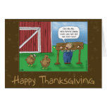 Funny Thanksgiving Cards: Turkey Taunt