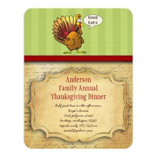 Funny Thanksgiving Dinner Invitation