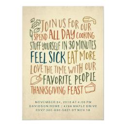 thanksgiving luncheon invitation