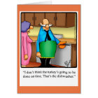 """Funny Thanksgiving Greeting Card """"Spectickles"""""""