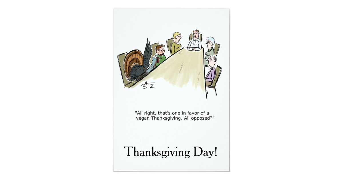 Funny Thanksgiving Dinner Invitations & Announcements | Zazzle