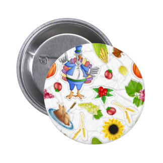 funny thanksgiving pinback button
