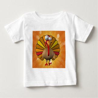 Funny Thanksgiving Turkey Baby T-Shirt