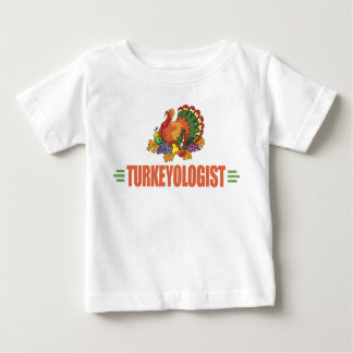 Funny Thanksgiving Turkey Baby T-Shirt