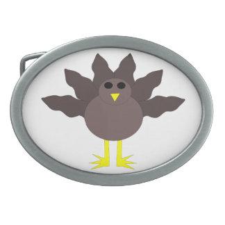 Funny Thanksgiving Turkey Belt Buckle