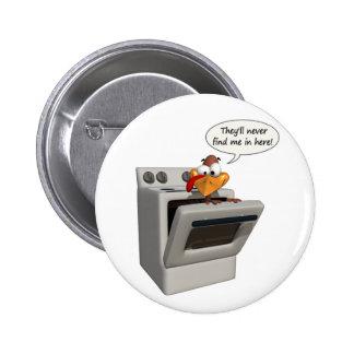 Funny Thanksgiving Turkey button