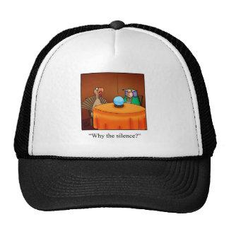 Funny Thanksgiving Turkey Fortune Cartoon Gifts! Trucker Hat