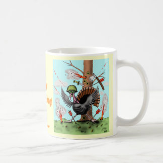Funny Thanksgiving turkey mug design