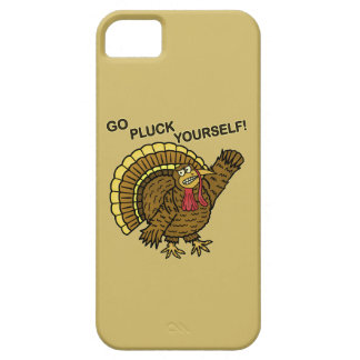 Funny Thanksgiving Turkey Pun iPhone 5 Cover