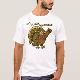 Funny Thanksgiving Turkey Pun T-Shirt
