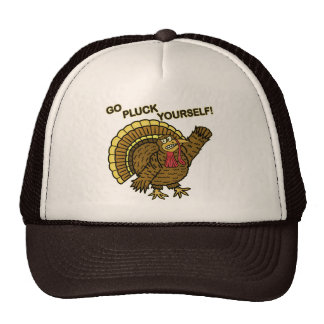 Funny Thanksgiving Turkey Pun Trucker Hat
