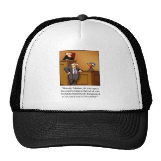 Funny Thanksgiving Turkey Trial! Trucker Hat