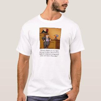 Funny Thanksgiving Turkey Trial T-Shirt! T-Shirt
