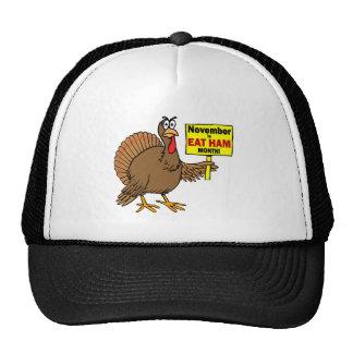 Funny Thanksgiving turkey Trucker Hat