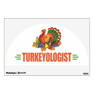 Funny Thanksgiving Turkey Wall Graphics