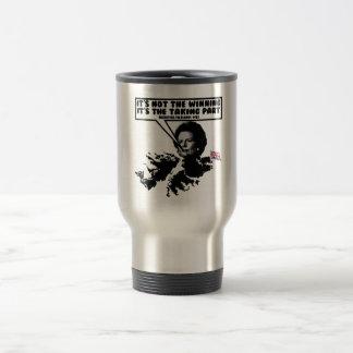 Funny Thatcher Falklands Travel Mug