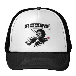 Funny Thatcher Falklands Trucker Hat
