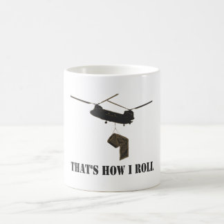 Funny that's how i roll coffee mug