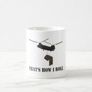 Funny that's how i roll coffee mug