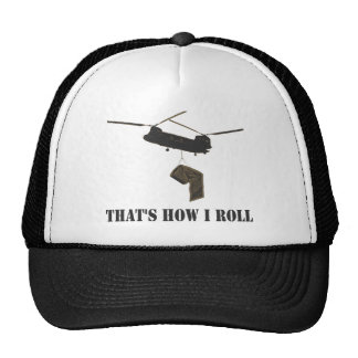 Funny that's how i roll trucker hat